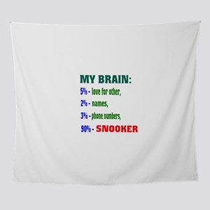 My Brain, 90% Snooker Wall Tapestry