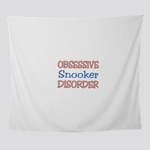 Obsessive Snooker Disorder Wall Tapestry