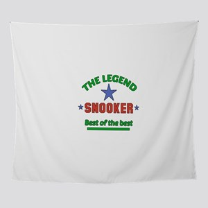 The Legend Snooker Sports Designs Wall Tapestry