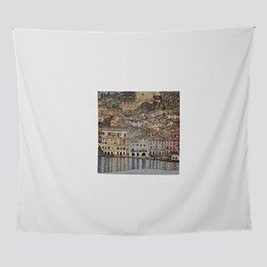 Gustav Klimt Malcesine on Lake Garda Wall Tapestry
