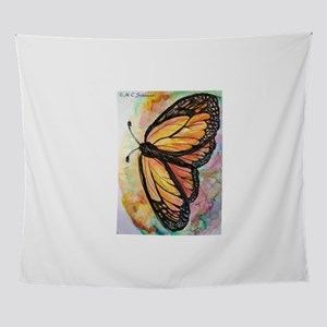 Orange Monarch Butterfly! Nature art! Wall Tapestr