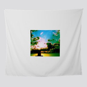Peaceful Sunset Water Tower 4Antonia Wall Tapestry
