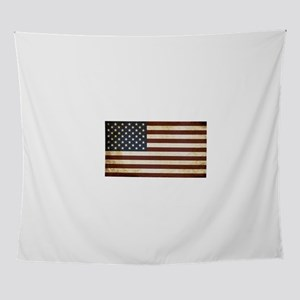 Vintage Flag of the USA for Memorial Wall Tapestry