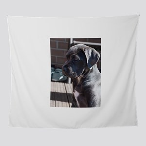 cane corso grey puppy Wall Tapestry