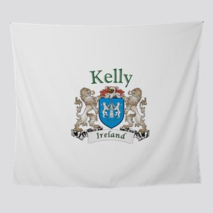 Kelly Irish Coat of Arms Wall Tapestry