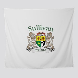Sullivan Irish Coat of Arms Wall Tapestry