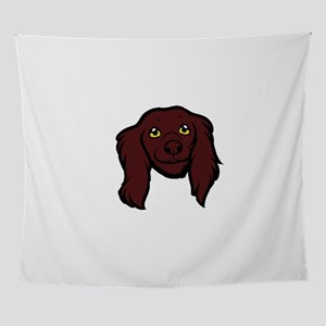 boykin spaniel head Wall Tapestry