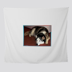 Husky! Dog photo! Wall Tapestry