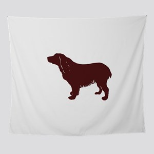 BS silhouette color Wall Tapestry