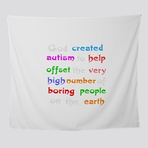 Autism support Wall Tapestry