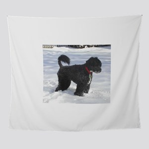portuguese water dog full Wall Tapestry