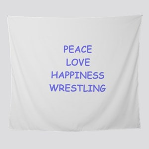 wrestling Wall Tapestry