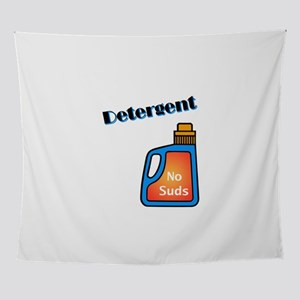 No Suds Detergent Wall Tapestry