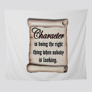 CHARACTER Wall Tapestry