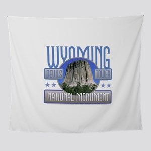 Wyoming Devils Tower Wall Tapestry