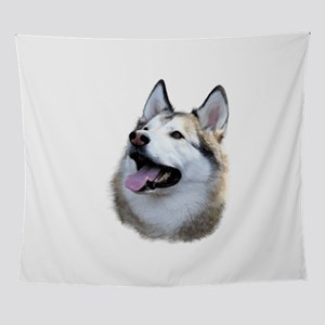 Husky Mug Shot Wall Tapestry
