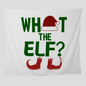 What The Elf Xmas Christmas Wall Tapestry