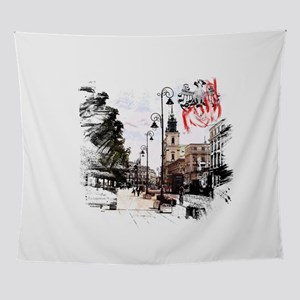 Poland Warsaw Wall Tapestry
