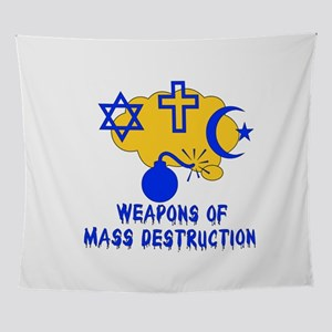 Terrorism Of Religion Wall Tapestry