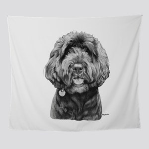 Nemo The Portuguese Water Dog Wall Tapestry