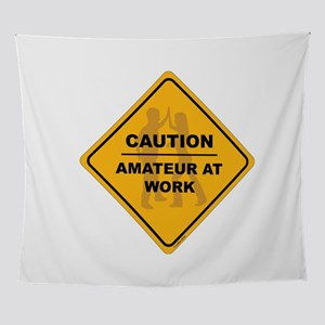 Amateur At Work Wall Tapestry