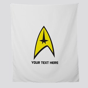 Star Trek Symbol Personalized Wall Tapestry