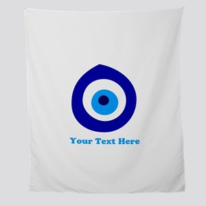 Evil Eye Magic Personalized Wall Tapestry