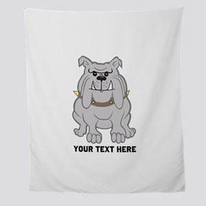 Bulldog personalized Wall Tapestry