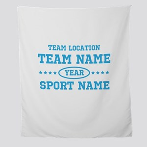Sports Team Personalized Wall Tapestry