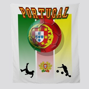 Portugal Football Soccer Wall Tapestry