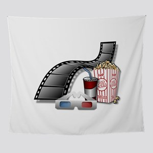 Cool 3D Movie Cinema Wall Tapestry