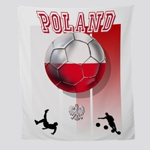 Poland Football Soccer Wall Tapestry