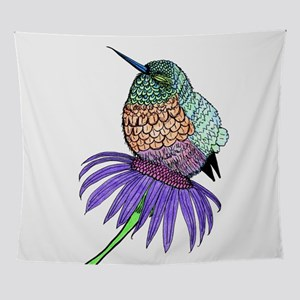 Baby Hummingbird Wall Tapestry
