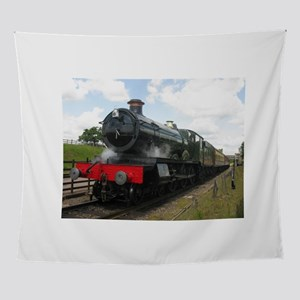 Vintage steam engine by Tom Conway A Wall Tapestry