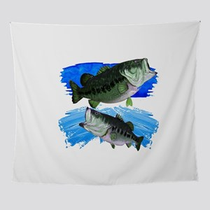 TWO STRIKES Wall Tapestry