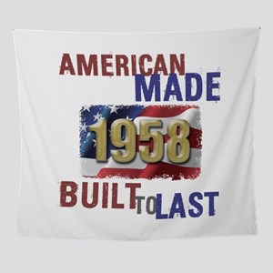1958 American Made Wall Tapestry