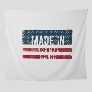 Made in Normal, Illinois Wall Tapestry