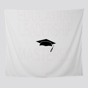 Education Leadership Masters Graduat Wall Tapestry