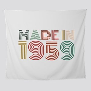 60th Birthday Celebration Gift Born Wall Tapestry