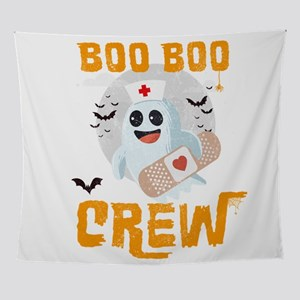 Boo Boo Crew, Nurse Ghost Funny Hall Wall Tapestry