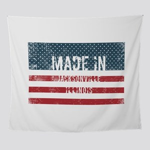 Made in Jacksonville, Illinois Wall Tapestry