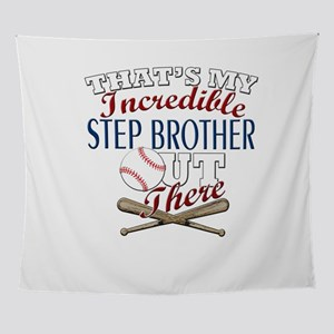 Baseball Step Brother & Sister G Wall Tapestry