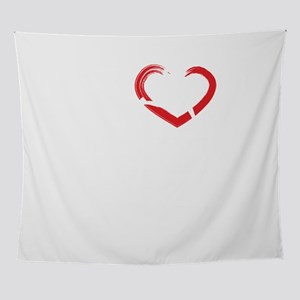 I Love Running Fitness Run Exercise Wall Tapestry
