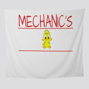 Mechanic's Chick Gift Wife Girlf Wall Tapestry