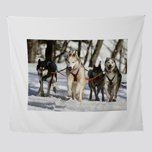 siberian husky working group Wall Tapestry
