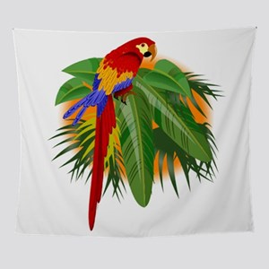 Parrot Wall Tapestry
