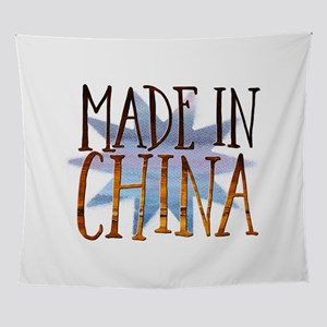 Made In China Wall Tapestry