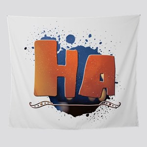 Ha Wall Tapestry