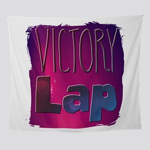 Victory Lap Wall Tapestry