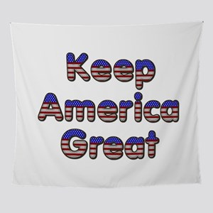 Keep America Great Wall Tapestry